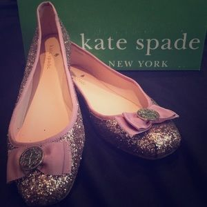Kate Spade Sequence Flats
